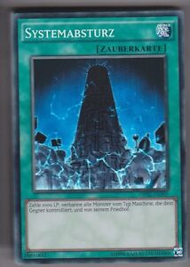 Unlimitiert Systemabsturz Yugioh OP02-DE009