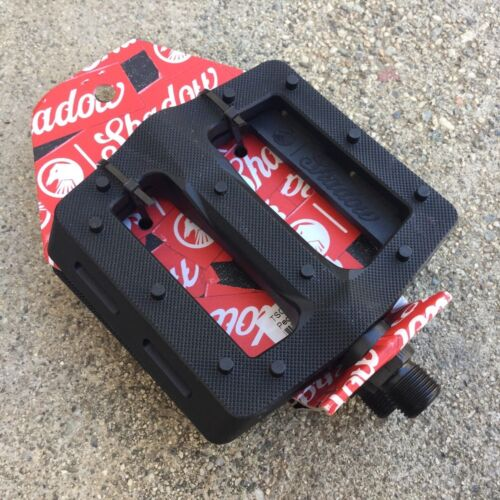 SHADOW CONSPIRACY SURFACE PLASTIC PEDALS BMX BIKE PEDAL RANT CULT SUBROSA FIT