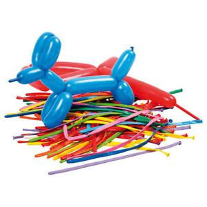 Modellierballons 20 Stk plus kleiner Pumpe für Ballonfiguren