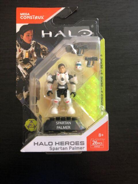 Mega Bloks Construx Halo UNSC FFP53 Spartan Palmer *New Sealed*