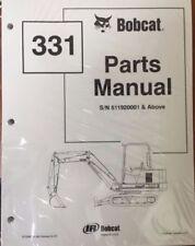 Bobcat 331 Service Manual And Parts Manual Shop Repair 6722918