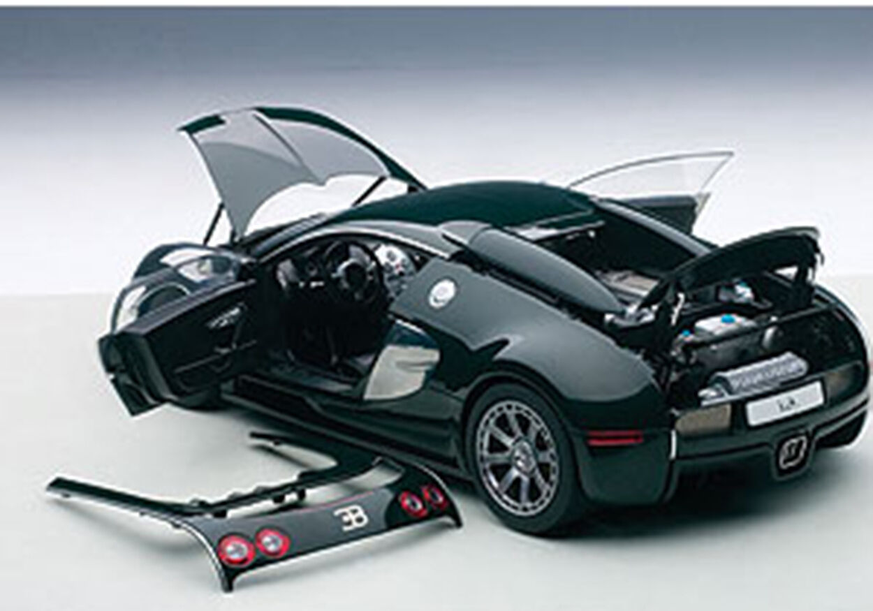 Autoart Bugatti Veyron L'Edizione Centenaire Racing Verde/Malcolm 1/18 Nuovo