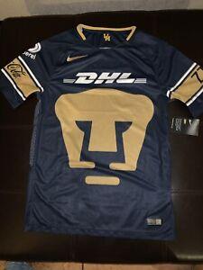 wholesale dealer 00b31 88d38 Details about Nike Pumas UNAM Soccer Jersey. Adult Size: Medium