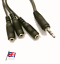 Speaker-Headphone-Splitter-cable-adapter-1-x-Male-3-5mm-3-x-Female-3-5mm-jack 縮圖 7
