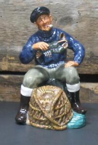 "Royal Doulton ""The Lobster Man"" Figurine HN 2317 Signed SG 7"" 1963 Ltd England"