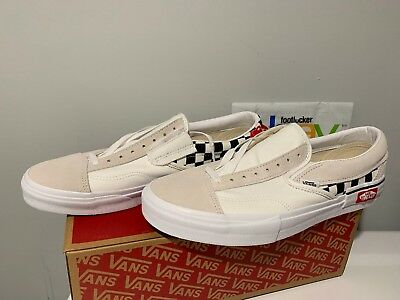 vans splin on beige