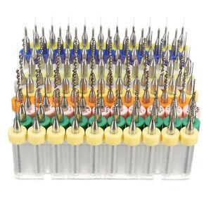 10pcs pcb print circuit board carbide micro drill bits tool 0,1 1la foto se está cargando 10pcs pcb print circuit board carbide micro drill
