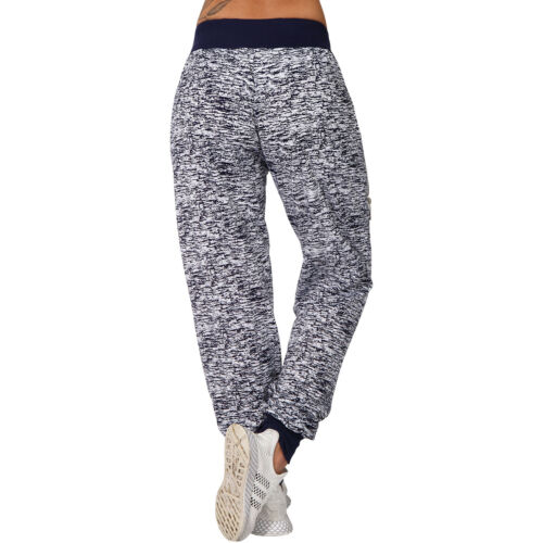 Jogging Hose Reißverschluss Trainingshose Sporthose Leiste Fitness Taschen lang