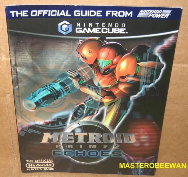 Metroid Prime 2: Echoes Official Guide Book by Nintendo Power Gamecube New