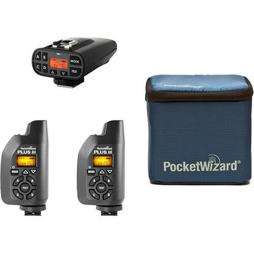 Case New PocketWizard Plus IV//Plus III Bonus Bundle Transmitters and Receivers