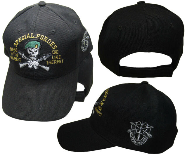 6d0168301 Special Forces Mess Best De OPPRESSO Liber U.s. Army Embroidered Cap Hat