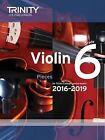 Violin Exam Pieces Grade 6 2016-2019 (Score & Part) by Trinity College London (Paperback, 2015)