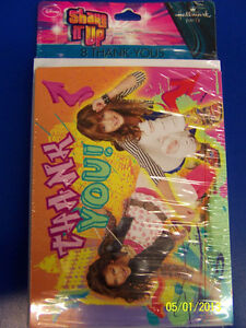 shake it up dancers disney tv show kids birthday party thank you
