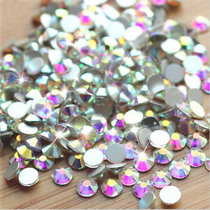 Flat-Back-Nail-Art-Rhinestones-Glitter-Diamond-Gems-3D-Tips-DIY-Decoration-1-BAG