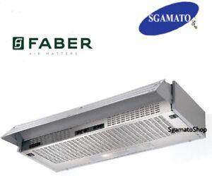 Dettagli su Cappa Cucina Aspirante Incasso Sottopensile Faber Flaminia 90 -  ORIG. FABER -