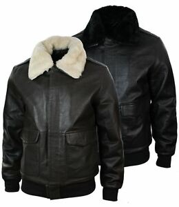 Jacket Homme Vinny Flight Cuir info oleo Vegetal x18xHqwd