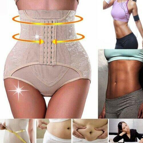 Damen Abnehmen Waist Control Shaper Bauchweg Figurformender Miederhose Shapewear