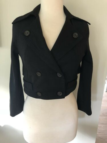Xs By Euc W Blazer Jacobs 4 Sleeve 3 Jacket Breasted Double Marc Cropped R67dqRW
