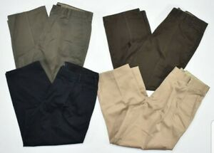 DOCKERS-Mens-Chinos-pants-Classic-Fit-Flat-front