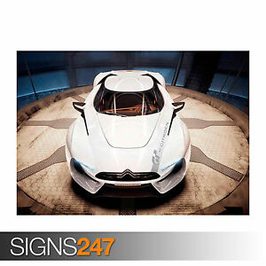 CITROEN GT 4 (0583) Car Poster - Photo Picture Poster Print Art A0 A1 A2 A3 A4