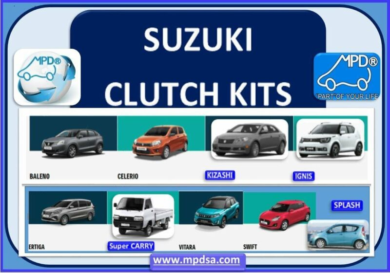 SUZUKI CLUTCH KITS AVAILABLE - OEM QUALITY - WITH PRICES THAT WILL IMPRESS