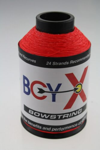 Neon Red 1//8lb BCY X Bowstring Material Bow String Making