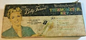 Betty-Furness-Westinghouse-Thermometer-Set-Kitchenware-Utensils-With-Box