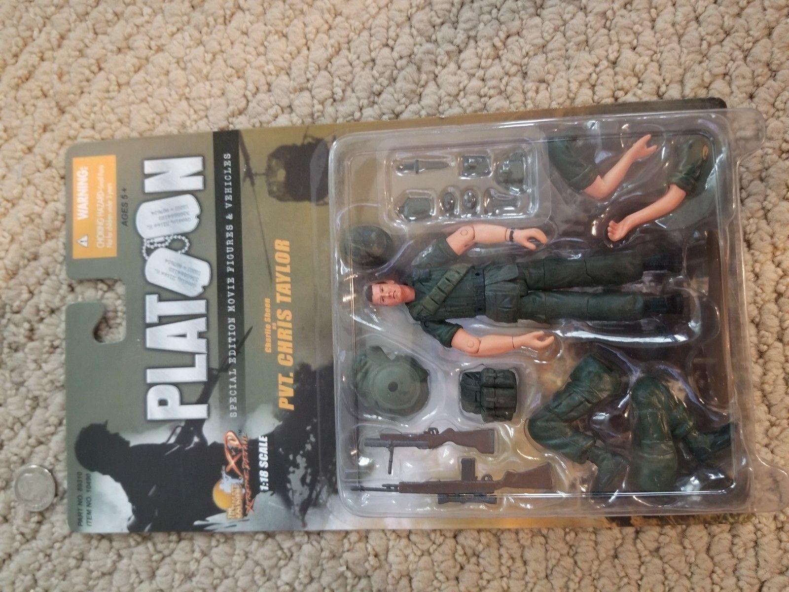 ULTIMATE SOLDIER 1 18 Vietnam era US PLATOON PVT TAYLOR CHARLIE