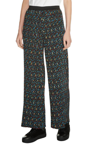 Maje Womens Multicolor Plina Floral Pleated Pants Sz 1 5719