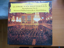 Beethoven LP *Symphonie Nr. 5* Karl Böhm. DGG Wiener Philharmoniker, Gatefold-LP