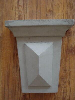 Fassadenstuck - Gründerzeit -konsole Aus Beton 105-1130b Für Aussenfassade Stuck