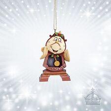 Cogsworth Schöne & Biest  Jim Shore Disney Ornament Standuhr Watch  A21429
