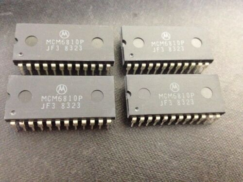 MOTOROLA 24 Dip-MARCA LOTTO di 10pcs MCM6810P CIRCUITO INTEGRATO-Case