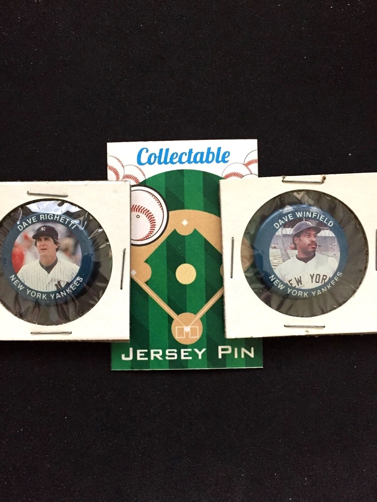 Nueva York Yankees Pins Pins Pins (2) -bronx Bombers- el Dave's