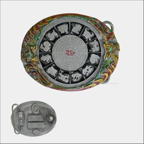 Horoscope Chine Signes Du Zodiaque Boucle de Ceinture Magie Ornement 318