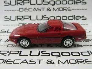 Johnny-Lightning-1-64-Scale-LOOSE-Red-1988-CHEVROLET-CORVETTE-C4-Diorama-Car
