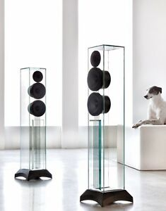 Waterfall Audio Victoria Evo Glass Floorstanding Speakers Ebay