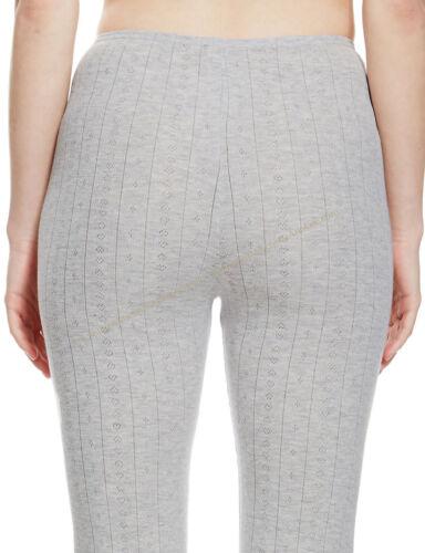 A77 BNWT M/&S Larga Johns Térmico Cálido Acogedor longitud del Tobillo Leggings Pantalones Talla 8-18