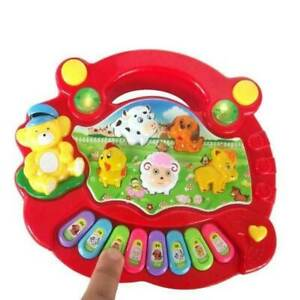 Baby-Kids-Musical-Educational-Animal-Farm-Piano-Developmental-Music-Toy-Gift-New