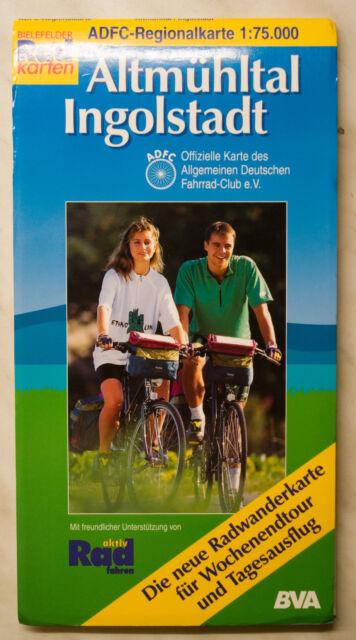 ADFC Regionalkarte Rad- und Wanderkarte - Altmühltal + Ingolstadt - 1:75.000