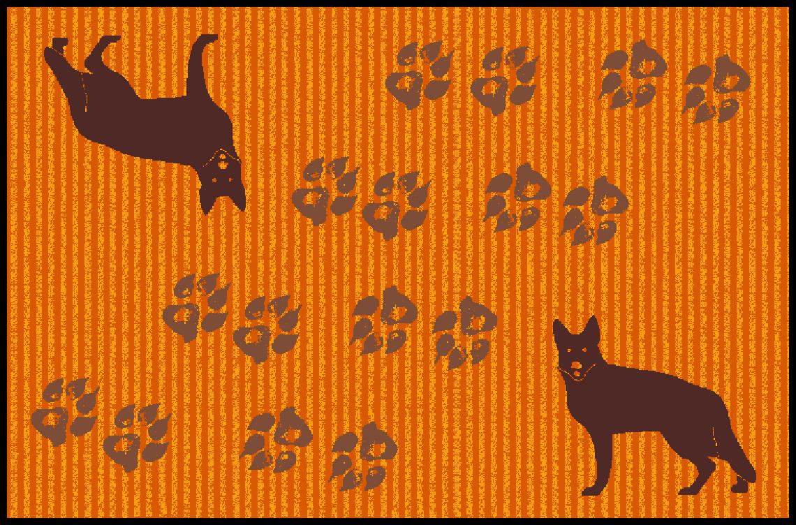 Fußmatte mit Namen Napfunterlage Hundematte Hundematte Hundematte  75x50 cm  Design 17180524    New Style  ea16d1
