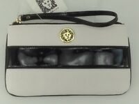 Women's Anne Klein White Black Perfect Pair Wallet - $30 Msrp