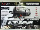 Schumacher XM1-5-CA Car BATTERY CHARGER 1.5A TRICKLE MAINTAINER 6/12V MOTORCYCLE