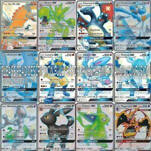 Pokemon-Tarjeta-Lote-de-100-tarjetas-de-juego-oficial-Trading-Card-raros-ex-GX-V-VMAX-CHAMPIONS-PATH