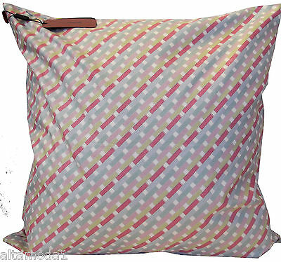 MISSONI HOME FODERA CUSCINO PILLOW COVER 60x60 CANTERBURY LAME' T38 HOUSSE COUSS