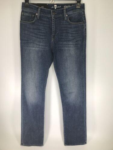 Stetch donna Jeans All t2 Mankind 7 5 Standard Taglia dritto For blu 30 6IwgBnqxR4
