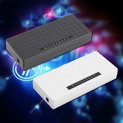 8-Port Hubs 1000Mbps Gigabit Ethernet Desktop Switch Fast NetworkV4