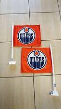 Edmonton Oilers 2017 NHL HOCKEY STANLEY CUP PLAYOFFS ORANGE Car Flag
