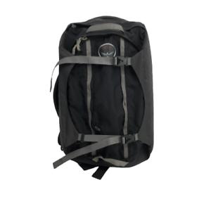Osprey Porter 46 Outdoor Backpack Bag Hiking Camping Black Gray
