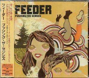 Feeder  Pushing the Senses 2005 CD New and sealed Japanese issue - <span itemprop='availableAtOrFrom'>Margate, Kent, United Kingdom</span> - Feeder  Pushing the Senses 2005 CD New and sealed Japanese issue - Margate, Kent, United Kingdom